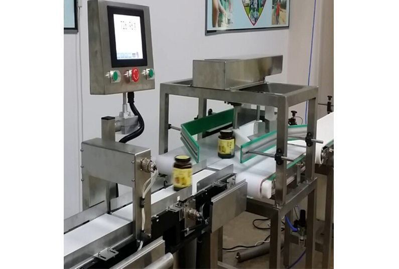 checkweigher solution for bottles