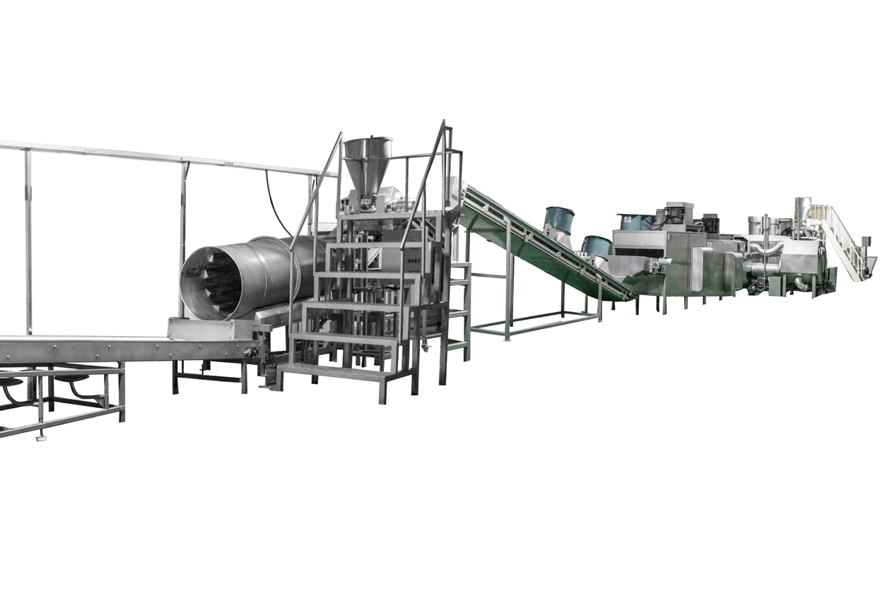 Nuts Coating and Frying Production Line